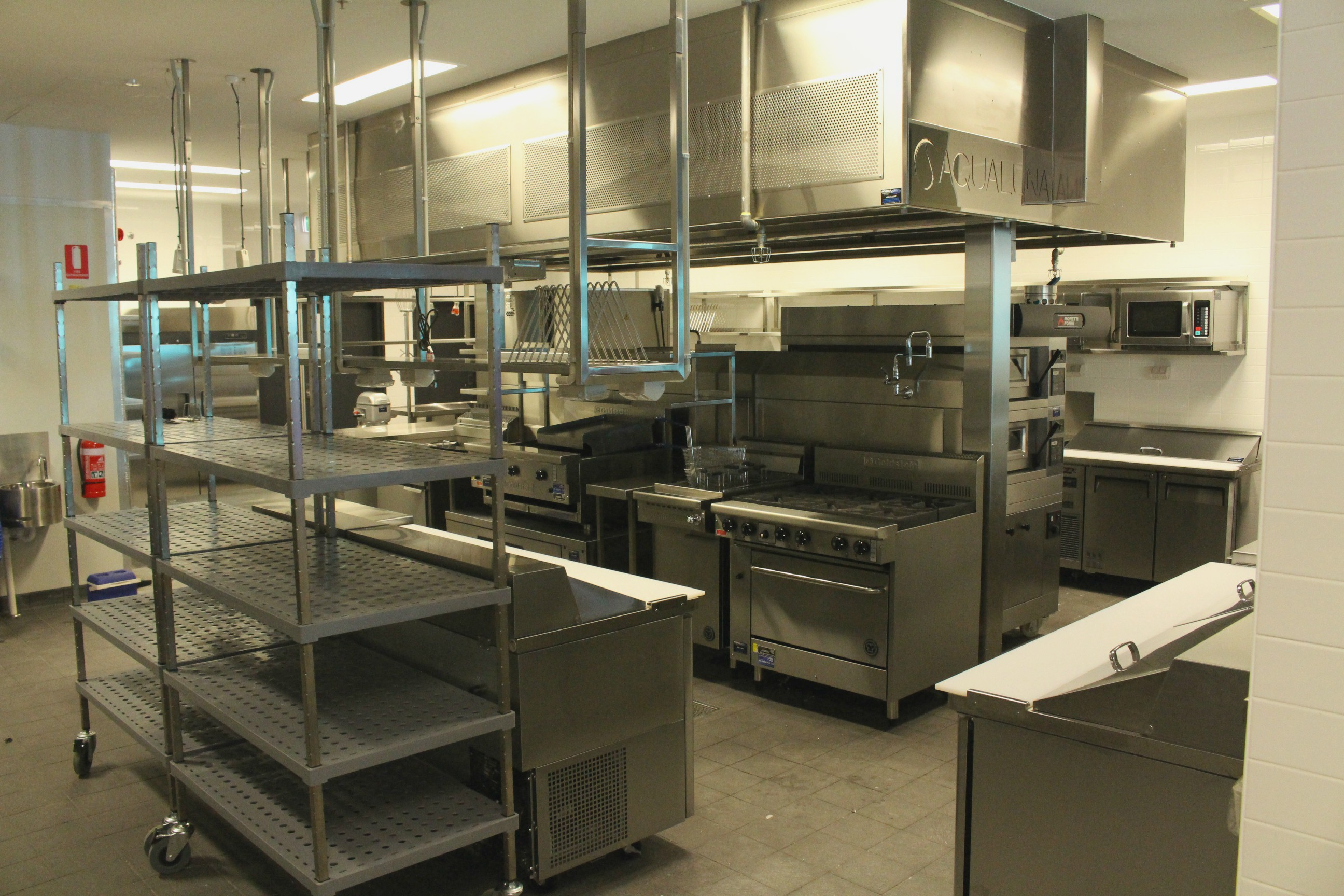 Commercial Kitchens Nomad Stainless Steel